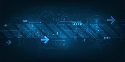 a velocidade do sistema de internet com muita informação vetor