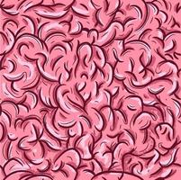 padrão sem emenda com o sistema neural humano vetor