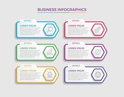 ilustração em vetor design infográfico conceito de negócio