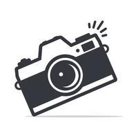 ícone da câmera símbolo vetor isolado