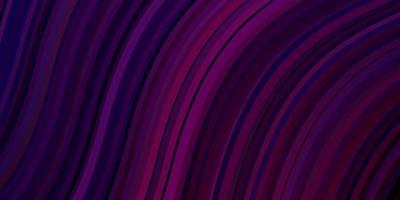 padrão de vetor roxo escuro com linhas irônicas.