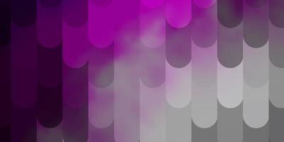 textura de vetor rosa claro com linhas.