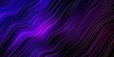 modelo de vetor roxo escuro com linhas curvas.