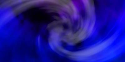 pano de fundo vector rosa escuro, azul com cúmulos.