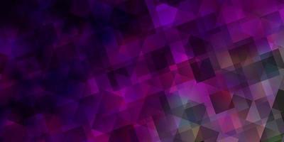 fundo vector rosa claro com estilo poligonal.