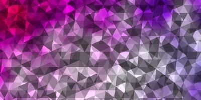 de fundo vector roxo, rosa claro com triângulos.