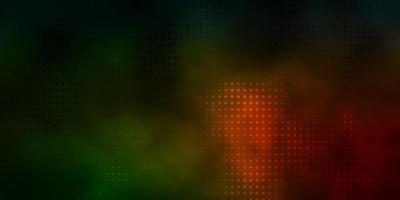 fundo vector verde escuro e vermelho com manchas.