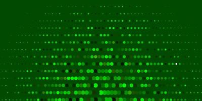 fundo vector verde escuro e amarelo com bolhas.