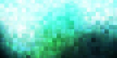 cenário de vetor verde claro em estilo retangular.