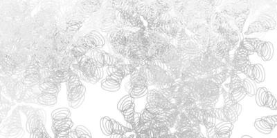 cenário de vetor cinza claro com linhas dobradas.