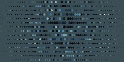 cenário de vetor cinza escuro com pontos.