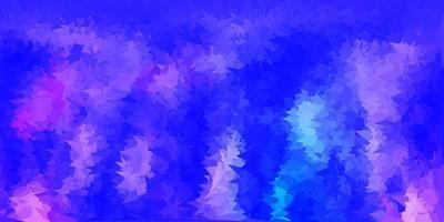 textura de polígono gradiente de vetor roxo claro.