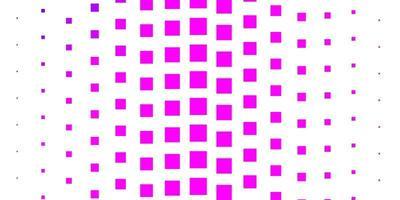 layout de vetor de luz roxa, rosa com linhas, retângulos.