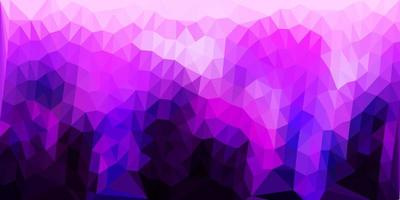 textura de triângulo poli vetor roxo escuro.