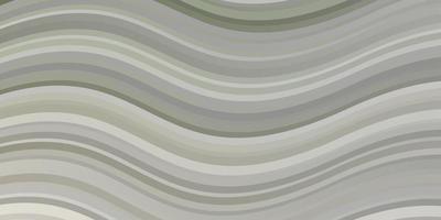 layout de vetor cinza claro com curvas.