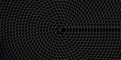 pano de fundo vector cinza escuro com círculos.