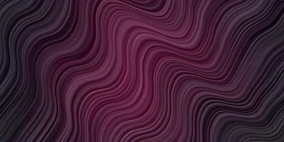 layout de vetor roxo escuro com curvas.