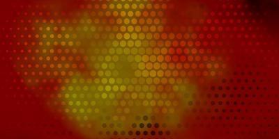 fundo vector vermelho e amarelo escuro com manchas.