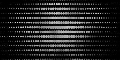 layout de vetor cinza claro com círculos.