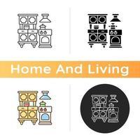 ícone de aparelhos de cozinha