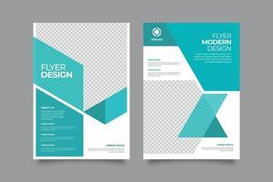 folheto de marketing profissional criativo vetor