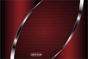fundo metálico vermelho escuro vetor