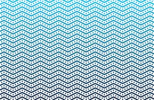 padrão de onda em ziguezague sem costura vetor