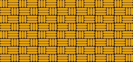 padrão abstrato de fundo amarelo, com padrões bem organizados, adequado para banners, capas e papéis de parede, ilustrações vetoriais vetor