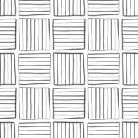 padrão de fundo de textura sem emenda do vetor. mão desenhada, cores pretas e brancas. vetor