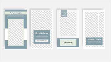 recém-chegados móveis mídia social banner modelo de postagem