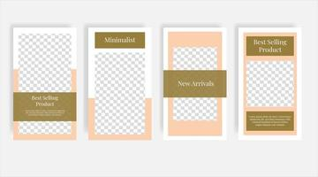 produto mais vendido de móveis em mídia social banner de modelo de postagem