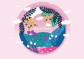 Vetor Magical Garden Vol 3