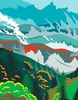 Parque Nacional das Great Smoky Mountains em Tennessee