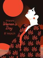 Dia Internacional das Mulheres Vol 2 Vector