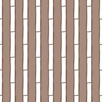 padrão de fundo de textura sem emenda do vetor. mão desenhada, cores marrons e brancas.