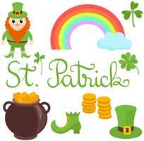 Vetores de Saint Patrick