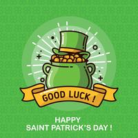Fundo do dia do St. Patricks