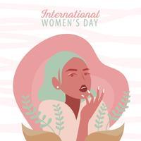 Vetores internacionais do dia da mulher