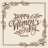Fundo Internacional das Mulheres vetor