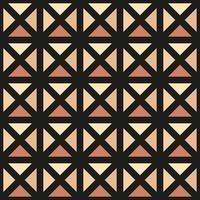 ornamento vetor padrão sem emenda. textura moderna e elegante. repetindo grade quadrada geométrica. design gráfico simples. geometria sagrada moderno moderno