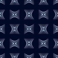 textura de fundo de linhas de onda de losango azul abstrato em estilo ornamental geométrico. design perfeito vetor