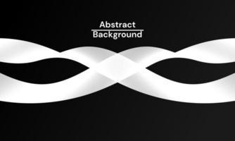 fundo abstrato moderno com linhas brancas onduladas vetor