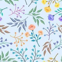 padrão sem emenda floral.