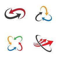 imagens do logotipo da seta vetor