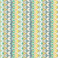 padrão geométrico sem emenda. motivos étnicos e tribais. mão desenhada textura ornamentos. ilustração vetorial pronta para impressão têxtil.