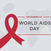modelo de design do dia mundial da aids