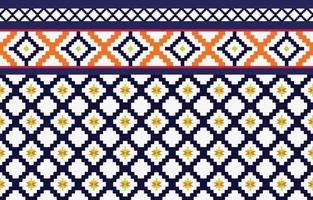 abstrato étnico geométrico padrão étnico design tradicional para um fundo