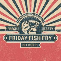 Sexta frita de peixe