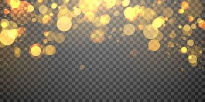 elemento de luz desfocada abstrato que pode ser usado para o fundo do bokeh da decoração da capa