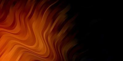 fundo laranja escuro do vetor com linhas.